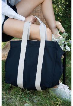 Velká recyklovaná vyztužená nákupní taška