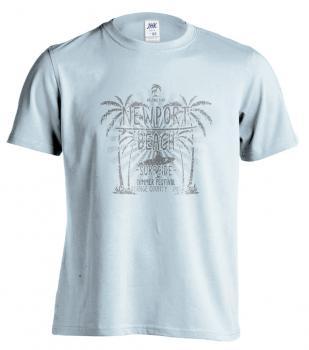 Pánské trièko - NEWPORT BEACH - SURFSIDE