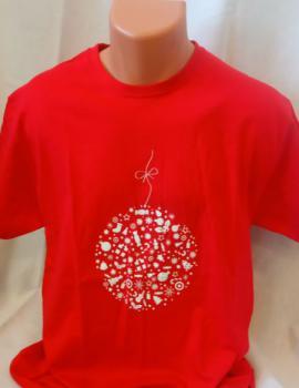 Unisex trièko - Vánoèní motiv ve tvaru baòky