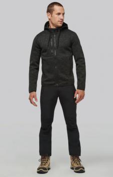 Pánská mikina s kapucí Men s heather hoodie