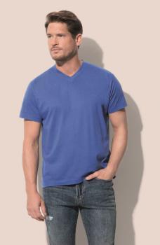 Pánské trièko Classic-T V-neck