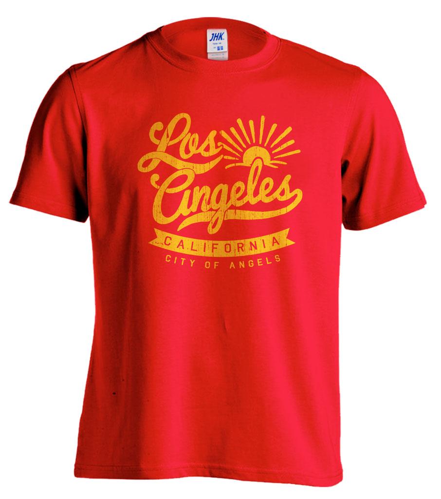 Pánské trièko - Los Angeles CALIFORNIA - zvìtšit obrázek