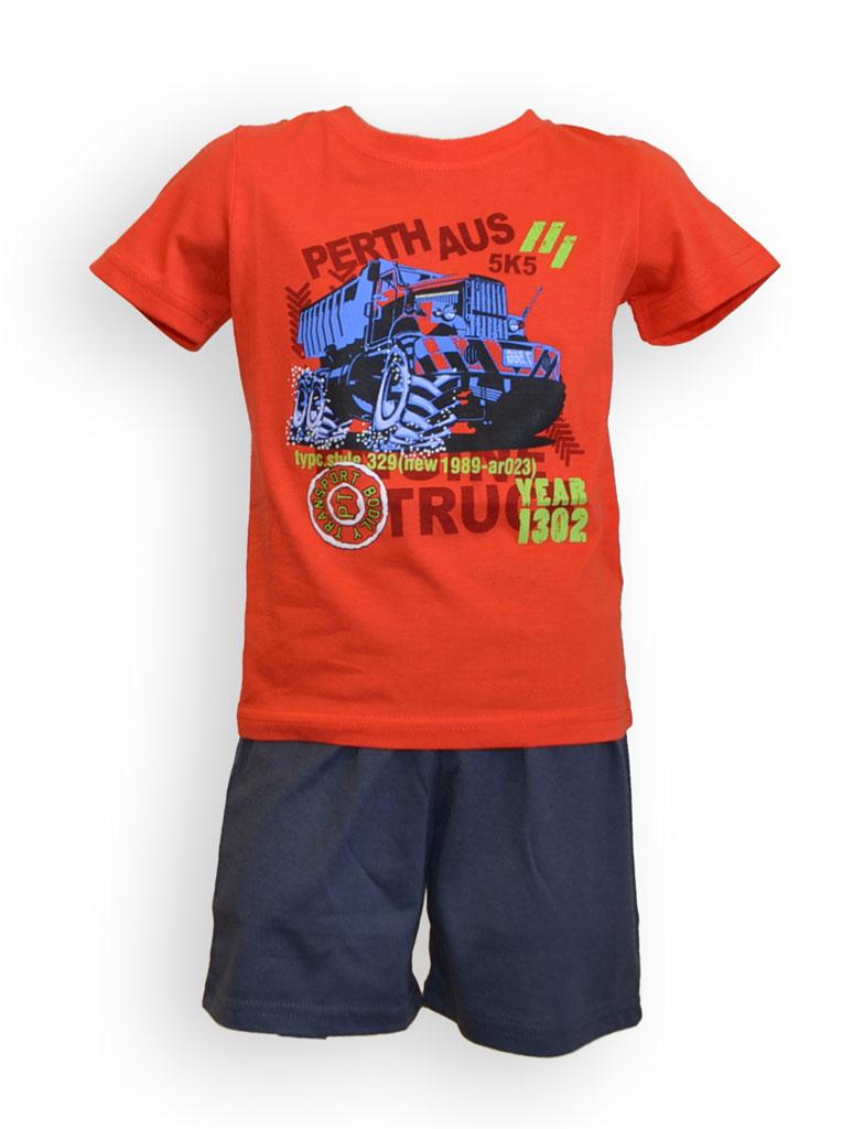 Dìtské pyžamo -  chlapecké, kr. rukáv - zvìtšit obrázek