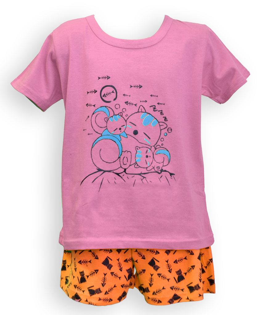 Dìtské pyžamo - krátký rukáv - zvìtšit obrázek